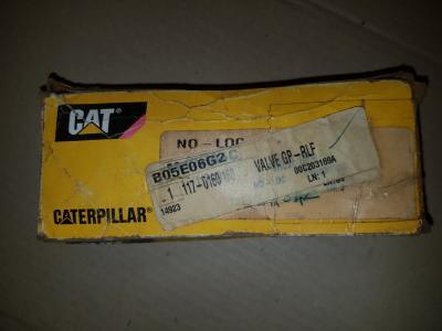 Caterpillar 117-0160 Valve GP-RLF